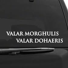 Game Of Thrones Themed Decals