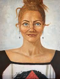 Original oil portrait on canvas. Be a shining star | Etsy