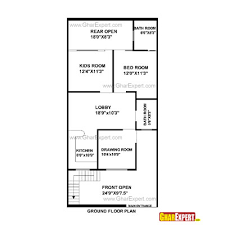 house plan for 25 feet by 52 feet plot