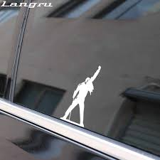 Langru 5 4cm 13 4cm High Quality Freddie Mercury Car Sticker Vinyl Car Window Decal Accessories Jdm Car Stickers Aliexpress