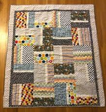new handmade baby girl boy crib quilt