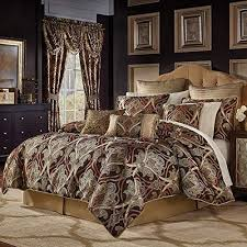 gold damask cal king comforter set