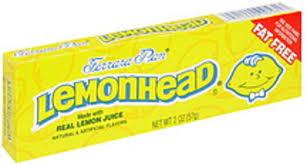 lemonhead candy 2 oz nutrition