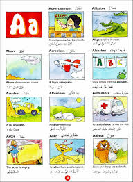 Arabic picture dictionary for kids ...
