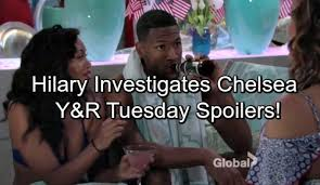 The Young and the Restless Spoilers: Tuesday, July 4 - Hilary Investigates  Chelsea and Jordan – Scott Insults Abby Bigtime | Celeb Dirty Laundry