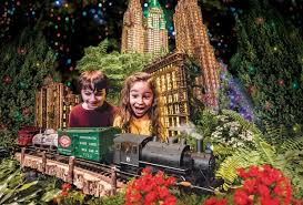 holiday train shows in nyc for kids