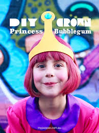 diy princess bubblegum crown my