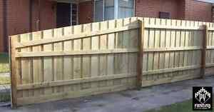 Treated Pine Timber Paling Fence Fencing Package 8 4 2 55m Hardwood Posts Ebay