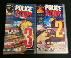 Police Stop VHS Cassette / Video Tapes - Vol 2 & 3 Great Throw ...