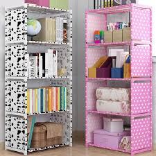 5 Shelf Bookcase Book Shelves Children Bookshelf Storage Bin Books Display Shelving Unit Organizer Storage Shelves Bookcases Aliexpress