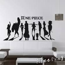 One Piece Wall Decal Vinyl Wall Stickers Decal Decor Home Decorative Decoration Anime One Piece Car Sticker Decorative Wall Decal Wall Decalsone Piece Wall Sticker Aliexpress