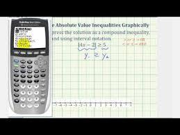 ex solve absolute value inequalities