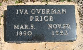 Iva Overman Price (1890-1983) - Find A Grave Memorial