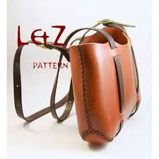 leather craft handbag patterns city