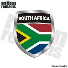 South Africa Flag Shield Decal Badge African Car Gloss Sticker Hgv Fashion Hom Africa South Africa Flag Africa Flag Africa