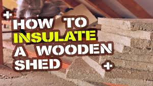 how to insulate a shed shed blog