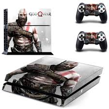 God Of War Ps4 Skin Sticker Decal For Sony Playstation 4 Console And 2 Controllers Ps4 Skin Sticker Shopee Philippines