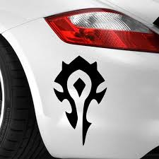 Peel And Stick Laptop Sticker For The Horde Vinyl Decal Home Decor Wall Decals Murals Home Living