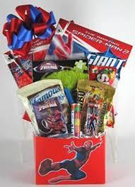 spider man gift basketgift baskets