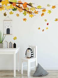 Maple Leaf Wall Sticker Shein Usa