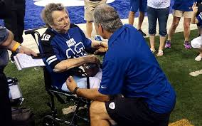 Colts, coach Chuck Pagano grant wish to woman dying of cancer -  CBSSports.com