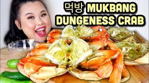 DUNGENESS CRAB SEAFOOD BOIL MUKBANG 먹 ...