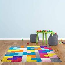 Dooboe Interlocking Foam Mats For Kids Floor Mats For Kids Puzzle Mats For Floor Colorful Floor Mat Soft Reusable Easy To
