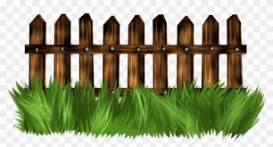 Vector Fence Grass Pagar Clipart Png Download 2740209 Pikpng