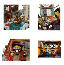 DHL 06066 4953pcs Ninjago City Masters of Spinjitzu Building ...