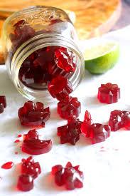 tart cherry lime homemade gummy candy