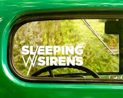 2 Sleeping With Sirens Band Decal Stickers The Sticker And Decal Mafia