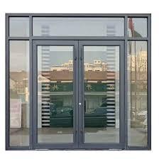 china custom commercial hinged door