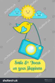 vector de stock libre de regalias sobre little bird camera