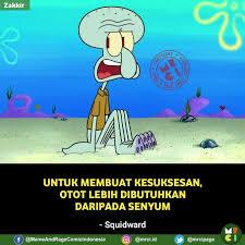 kata mutiara dari para tokoh animasi spongebob squarepants