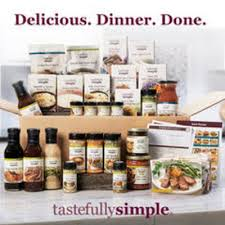 tastefully simple with heather