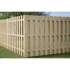 Shop Pine Dog Ear Pressure Treated Wood Fence Privacy Panel Common 6 Ft X 8 Ft Actual Wood Fence Lowes Home Improvements Pressure Treated Wood