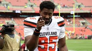 Myles Garrett reinstated by the NFL, welcomed back to the Browns