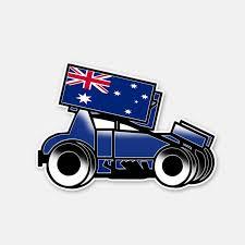 Yjzt 13 2cm 9 2cm Style Sprintcar Aussie Decal Motorcycle Window Car Sticker 6 2959 Car Stickers Aliexpress