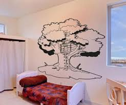 Vinyl Wall Decal Sticker Tree House Os Aa1330 Stickerbrand