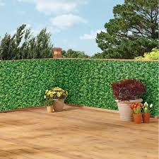 Faux Ivy Privacy Weather Resistant Fence Cover Collections Etc