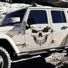 18 Black Skull Hood Decal Vinyl Large Graphic Sticker Car Truck Window New Wonderful Wish