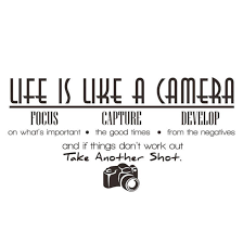 New Qualified 2017 Life Is Like A Camera Wall Sticker Quote Vinyl Room Wall Decal Home Decor Dec19 Stickers For Home Stickers For Home Decoration From Chairdesk 4 25 Dhgate Com