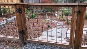 Diy Hog Wire Deck Railing Plans See Description In 2020 Wire Fence Hog Wire Fence Fence Construction
