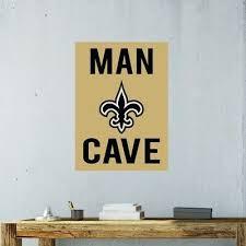 New Orleans Saints Wall Decal Nfl Logo Vinyl Sport Design Man Cave Decor Cg927