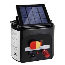 8km Solar Power Electric Fence Charger Electric Fence Energizer Solar Electric Fence Solar