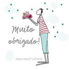 Muito Obrigado! (Em Portuguese do Brasil): Amazon.es: Helen Exley ...