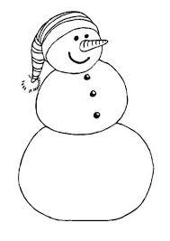 Kleurplaat Sneeuwpop Met Afbeeldingen Kerstmis Kleurplaten