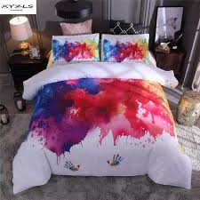 xyzls colorful graffiti printed bedding