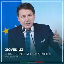 Diretta Conte oggi 23 aprile 2020: conferenza stampa in live ...
