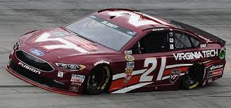 21 Virginia Tech Ford Fusion 2017 Ryan Blaney Ace Ace Ace Decals
